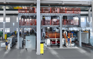 AF 3200 Double Beams (SS)PP Spunbond Nonwoven Fabric Production Line